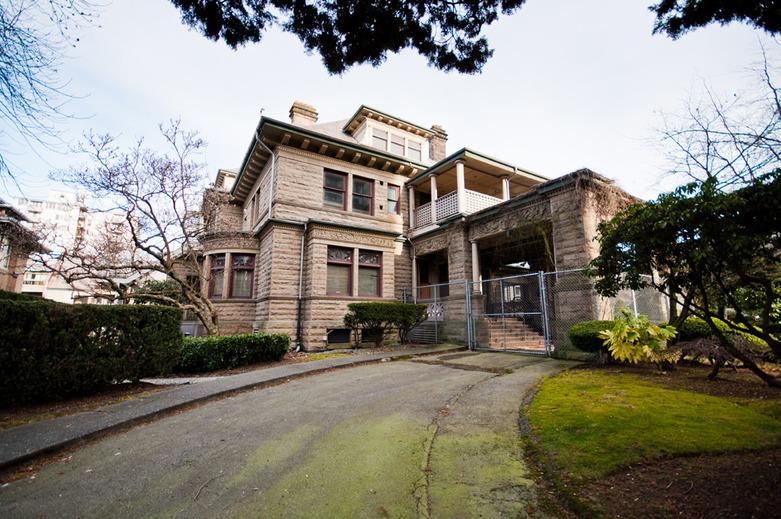 Davie Street Heritage house
