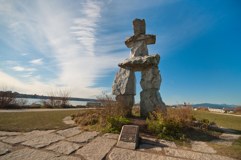 Inuksuk English Bay West End
