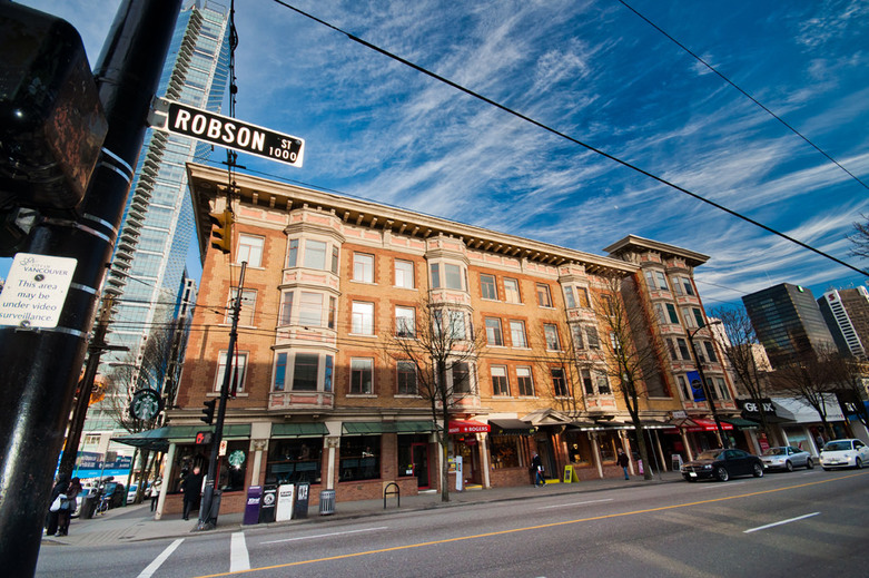 Robson Street West End