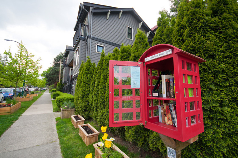 Little Free Library  2305 McLean Dr  Vancouver