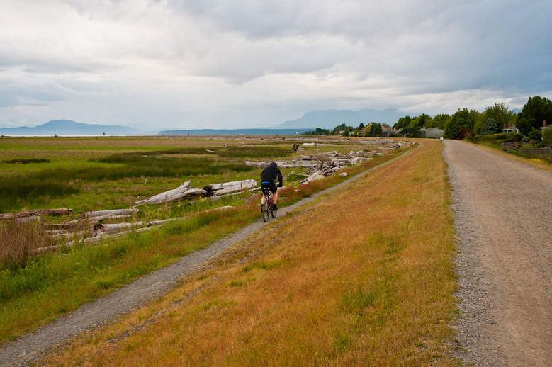 Cycle Rout West Dyke Trail
