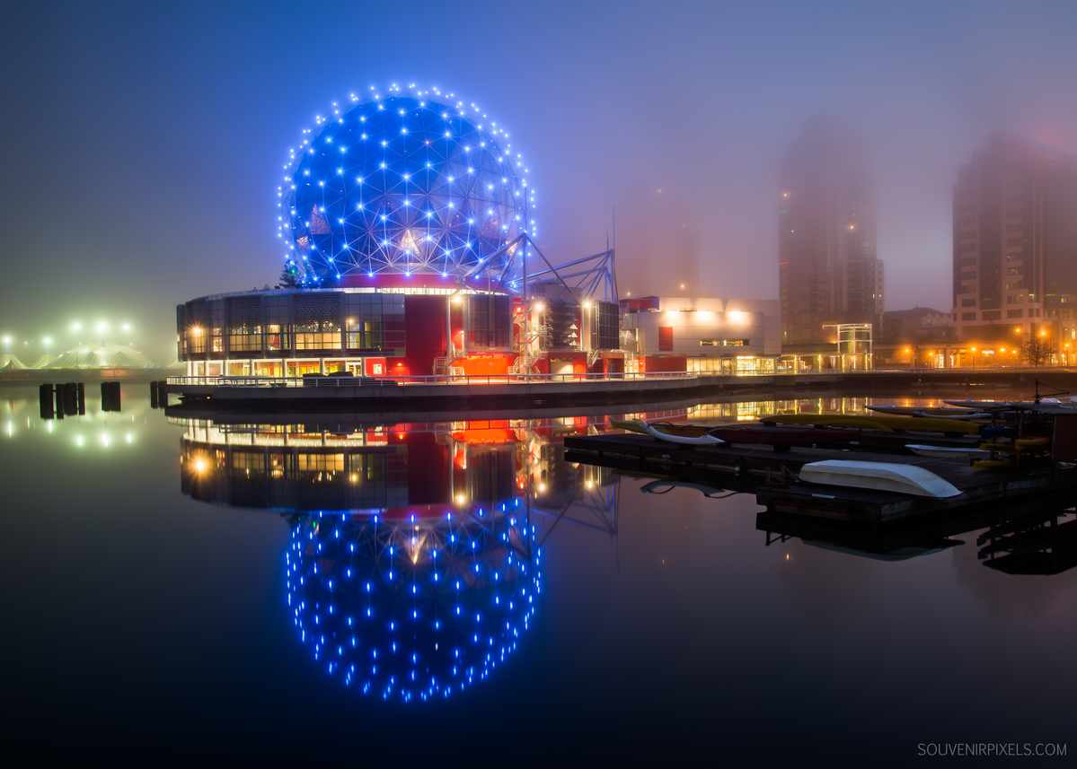 Foggy Science World | Vancouver BC Photos