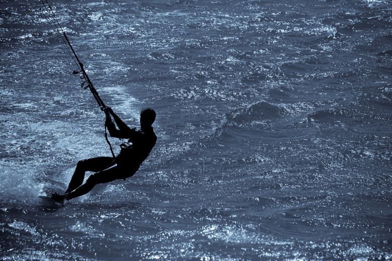 Kitesurfer by Julien Haler