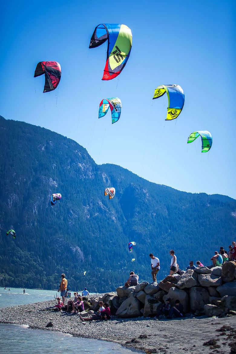 Squamish Wind Festival by Nicolas Hesson
