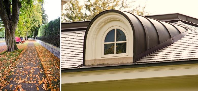 3489 Osler window and sidewalks