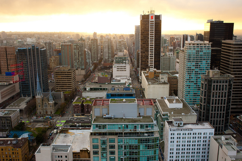 Harbour Centre View by Kenny Louie