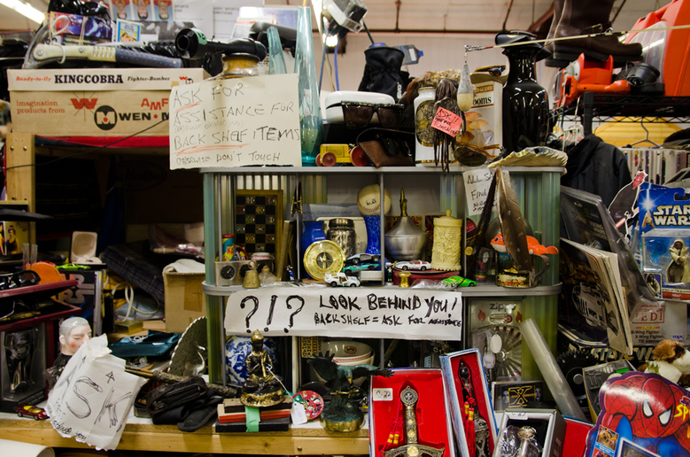16You can discover the spirit of garage sales