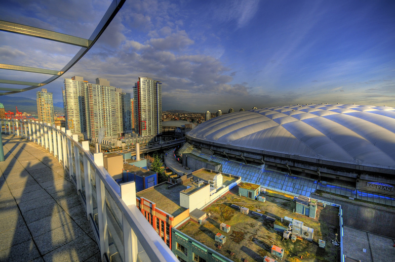 B C  Place Vancouver by Chris Coleman