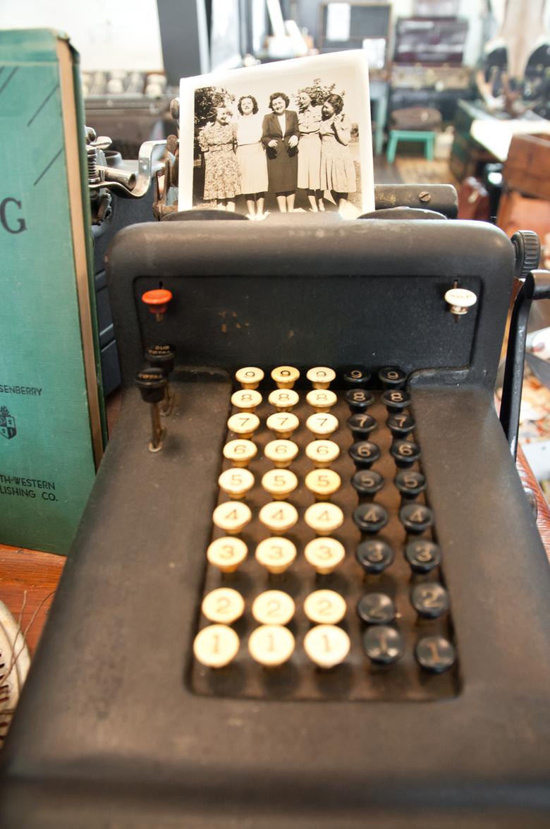 4 A Vintage Typewriter