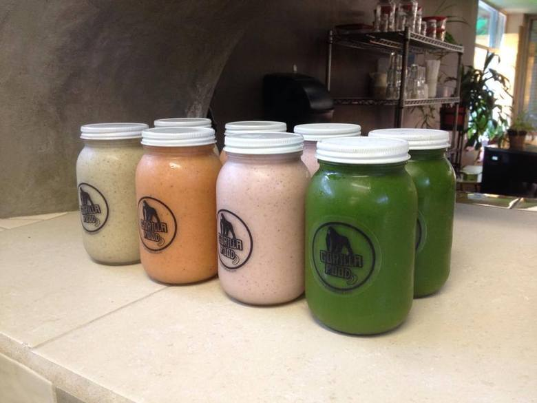 Gorilla Food Smoothies via Facebook