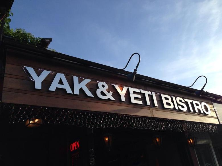 Yak Yeti Bistro front by Felice L