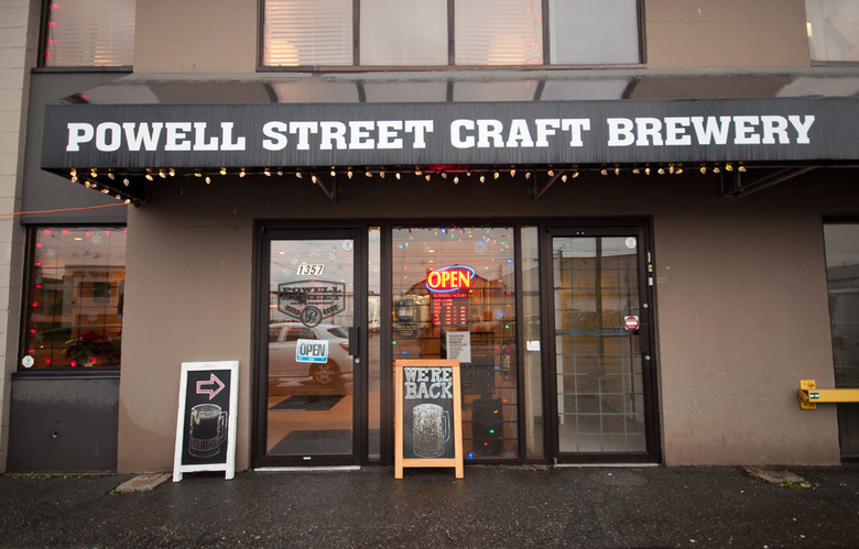 14 Powell Street Craft Brewery Storefront