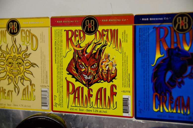 26 Red Devil Pale Ale Label