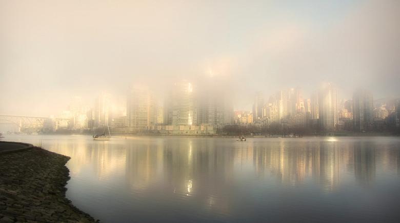 Foggy Glow by Mark Faviell