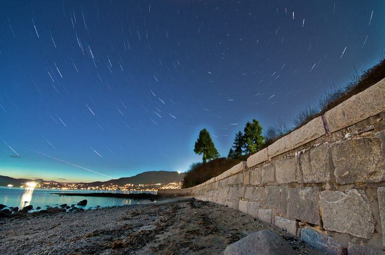 9 Stanley Park  star trails