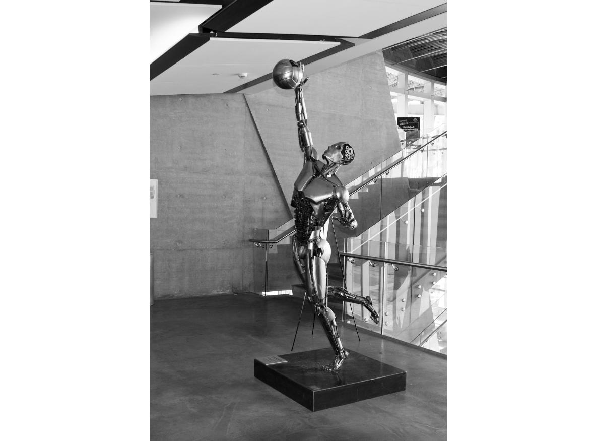 Richmond Olympic Oval statue