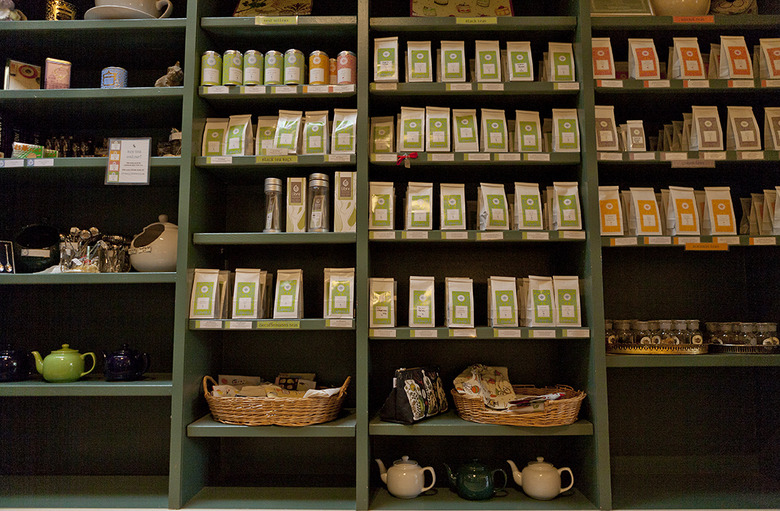 2 The tea shop selection