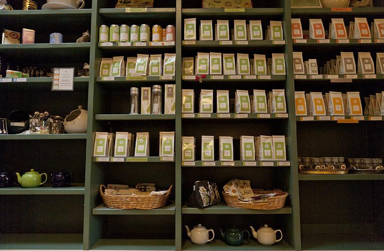 2 The tea shop selection