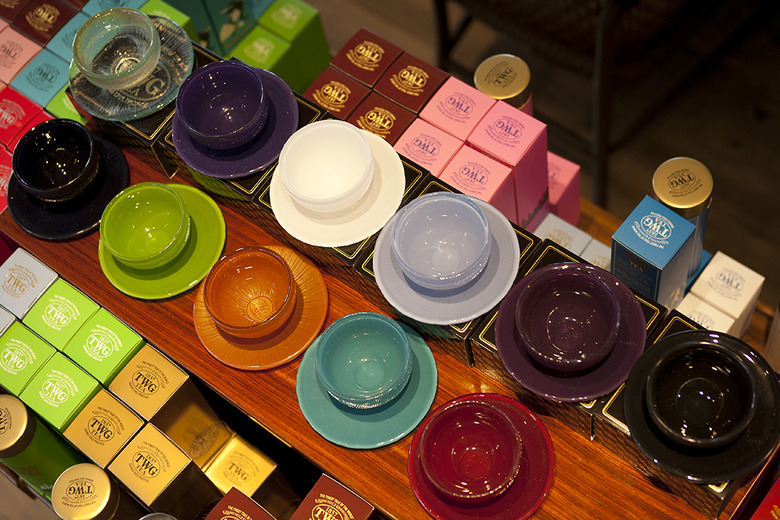 6 Colourful Tea Cups