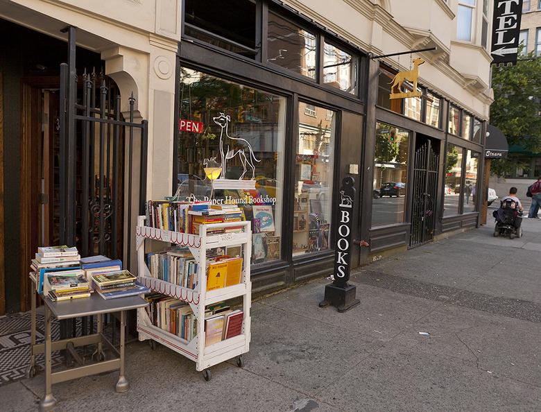 11 The paper hound bookshop