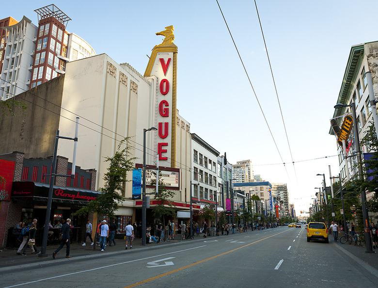 16 Granville Street and Vogue Theatre