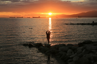 Saturday Summer Sunset