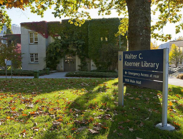 1 Walter C Koerner Library