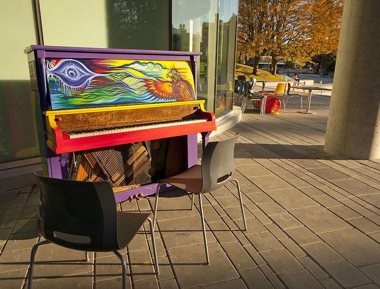 17 Public Piano