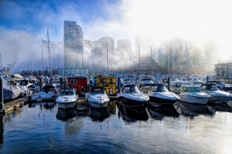 Coal Harbour in the Fog