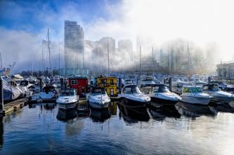 Coal Harbour in the Fog