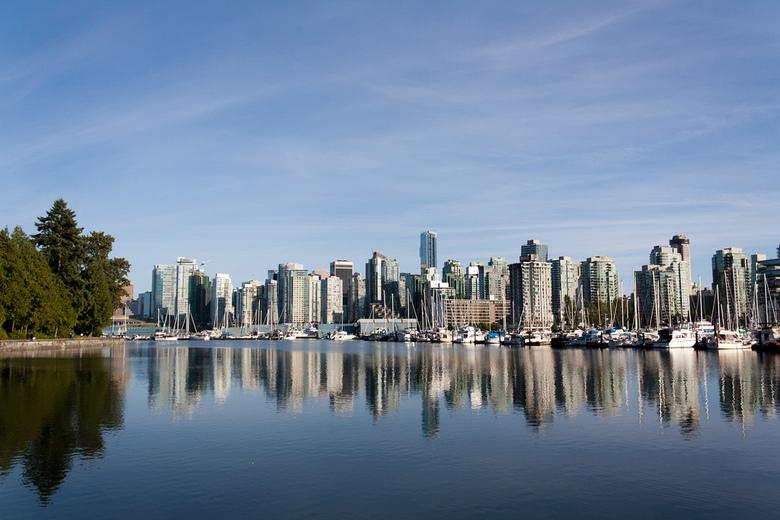 Vancouver Skyline by domo k