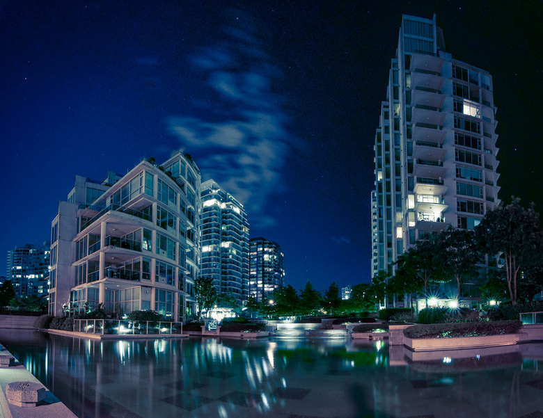 Coal Harbour Condos by Colin Knowles