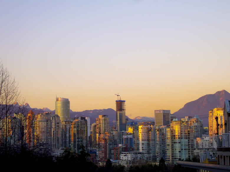 Vancouver Skyline by Paul Joseph