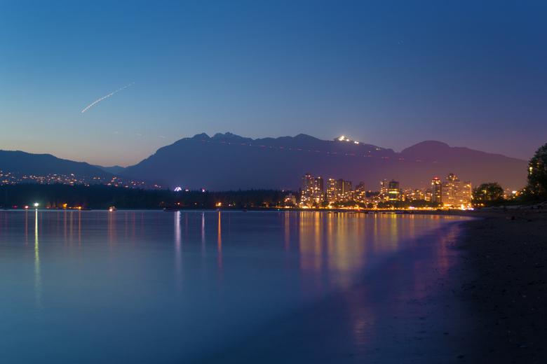 Vancouver City Skyline  Landscape by Asher Isbrucker