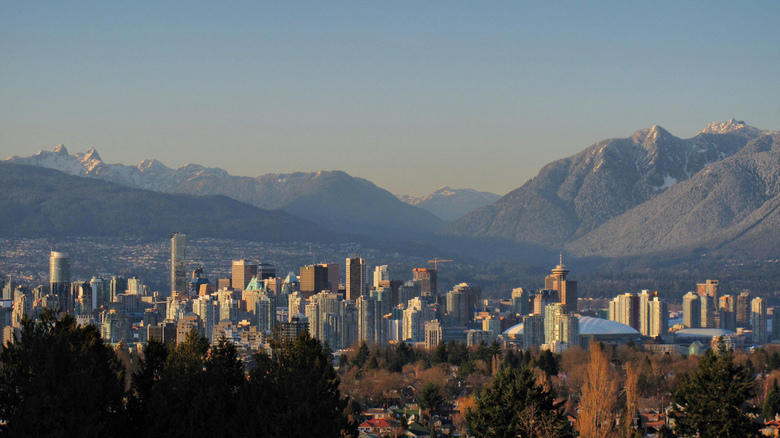 Vancouver Skyline by Kyle Pearce