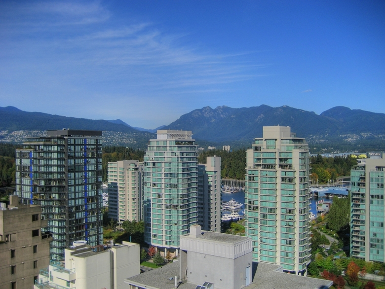 Vancouver Blue Sky by Kyle Pearce