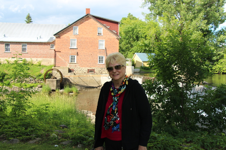 Brenda at Millpond in Knowlton