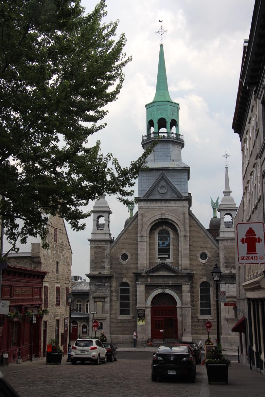 Montreals Notre Dame de Bonsecours Chapel