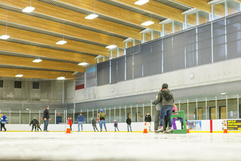 Vancouver Ice Skating Rinks Trout Lake7