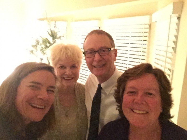 Julie, Brenda, Jay and Mary Christmas 2016