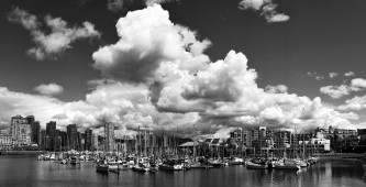 Along the False Creek Seawall