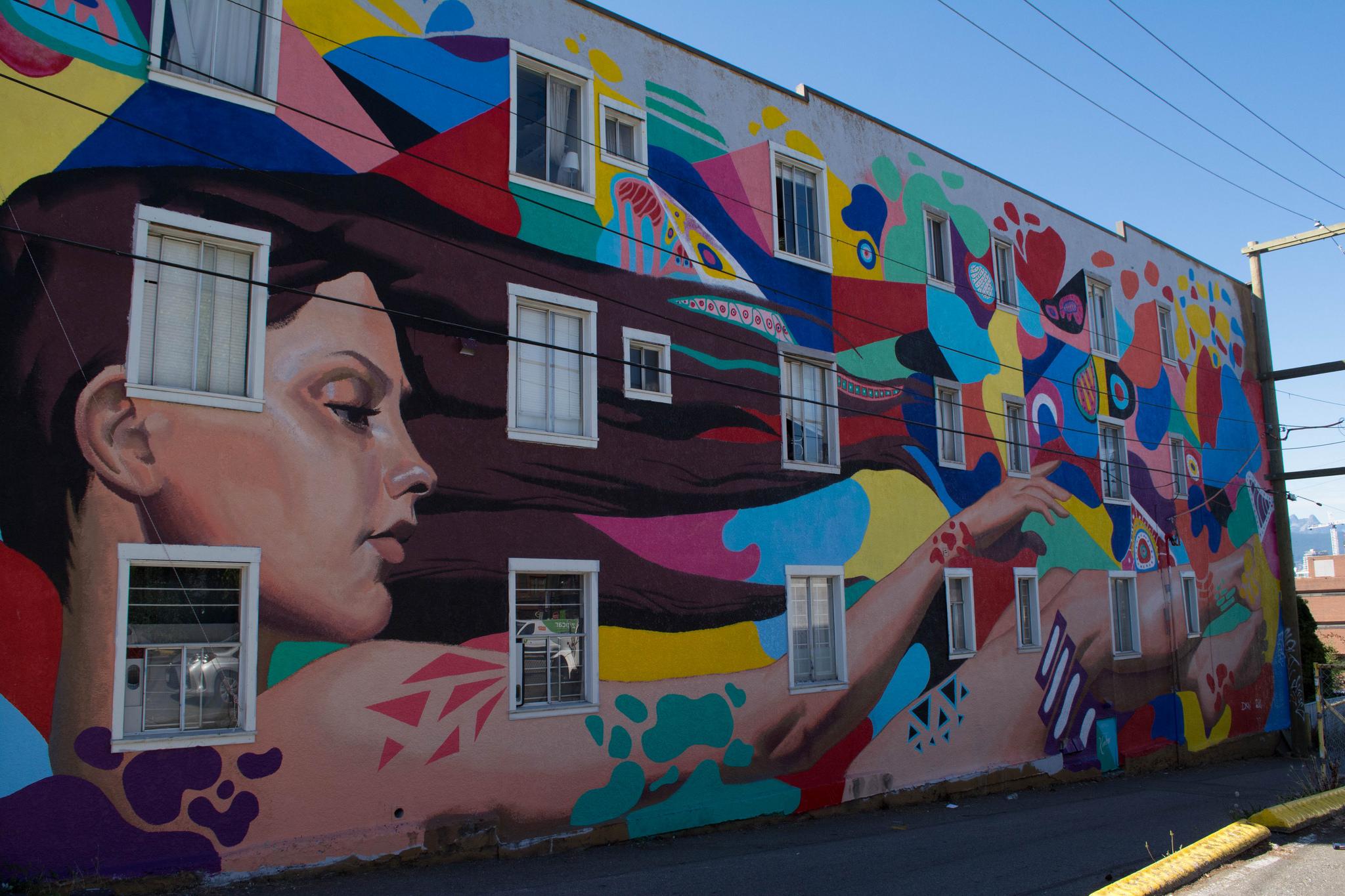 Vancouver Mural Festival 2017 | Vancouver BC Photos