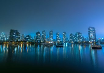 False Creek, foggy by Colin Knowles