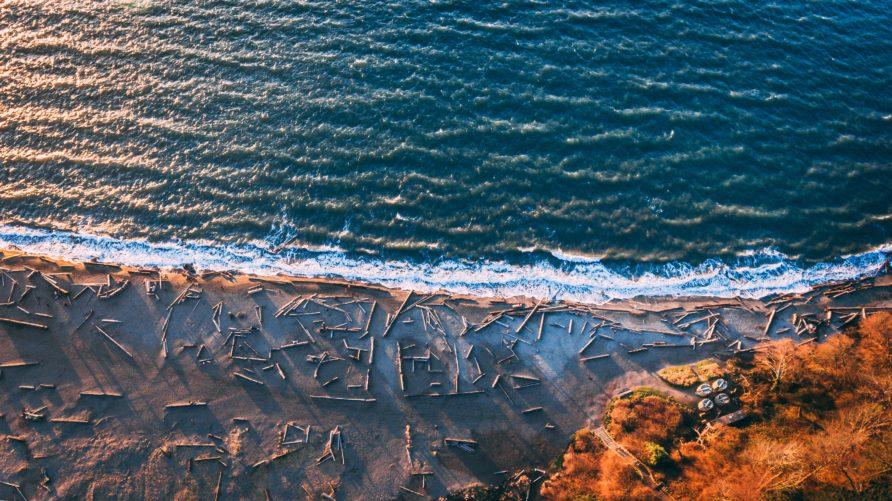 blue ocean sand beach