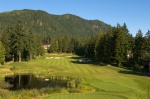 Westwood Plateau Golf Country Club Hole 1 Zoomed