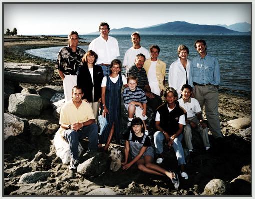 Bellinger family Vancouver . Jay Banks