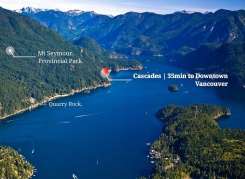 CASCADES - Mount Seymour Parkway - Indian Arm