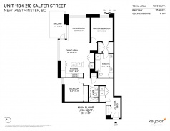 1104 210 SALTER STREET - New Westminster - Queensborough