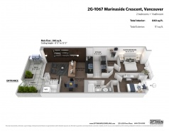 2G 1067 MARINASIDE CRESCENT - Vancouver Yaletown - Yaletown