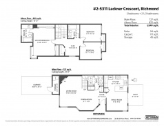 2 5311 LACKNER CRESCENT - Richmond Central - Lackner